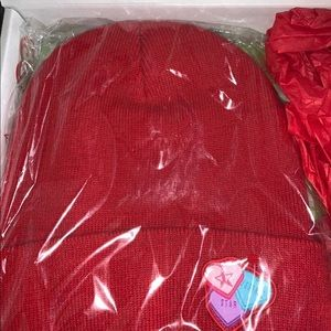 Jeffree Star Red Mystery Box Beanie